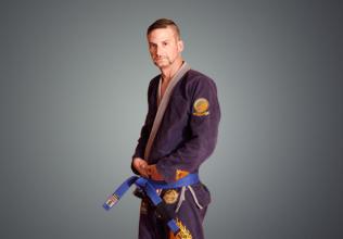 Austin BJJ Blue Belt