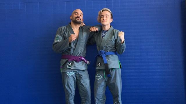 Brazilian Jiu Jitsu Coach Supports Ill Wife by Rolling for 24 Hours Straight