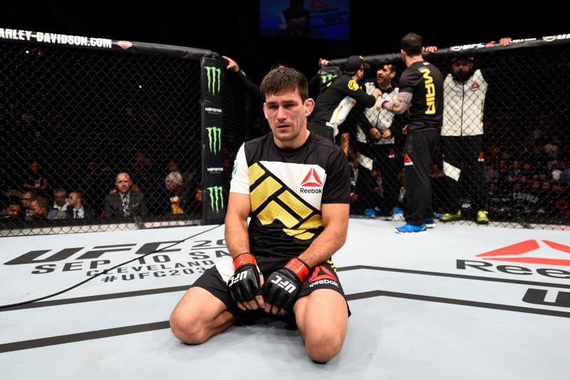 Demian Maia Not Bothered by Short Camp for UFC 214
