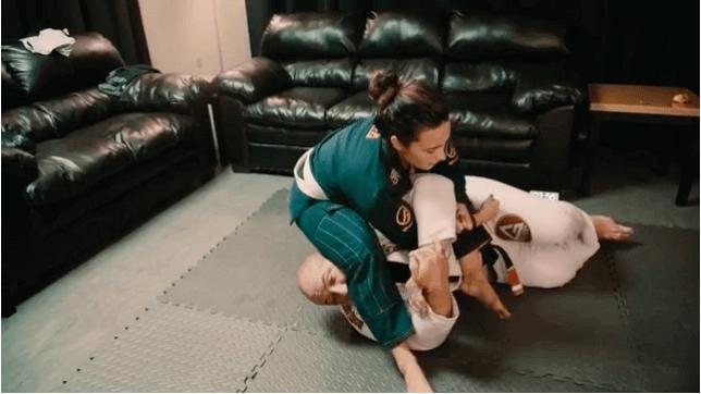 Demi Lovato Hip Tosses BJJ Champ
