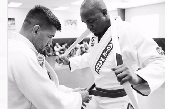 Jon Jones Earns His Blue Belt in Brazilian Jiu Jitsu