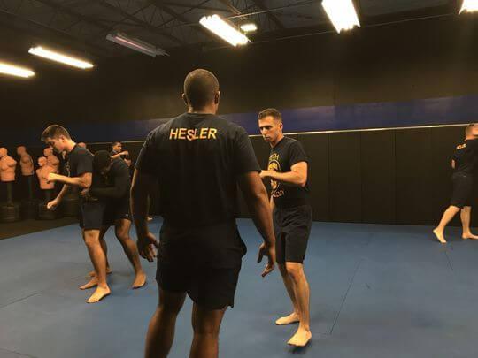 Corpus Christi Police Cadets get Brazilian Jiu Jitsu Training
