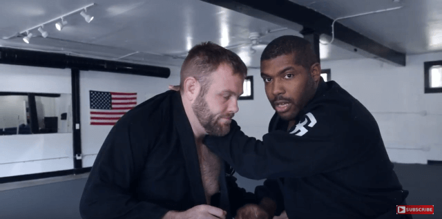 Aces Technique of the Week | Standing Collar Choke