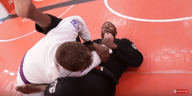 Aces Technique of the Week: The Arm Bar