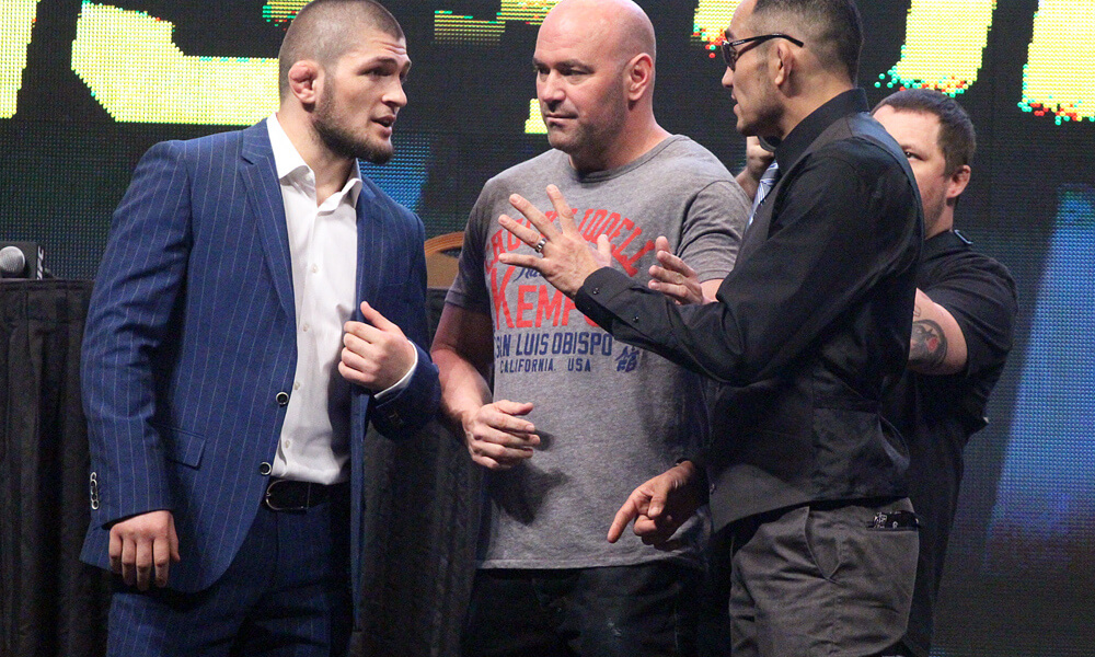 Sources: Tony Ferguson to fight Khabib Nurmagomedov at UFC 223