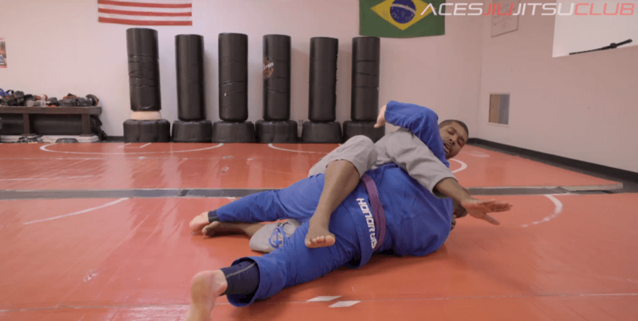 Aces Technique of the Week: How to Ditch the Back Take and Stay on Top