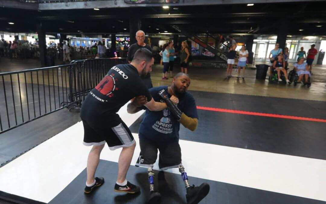 Disabled Veterans Show Off Jiu Jitsu Skills
