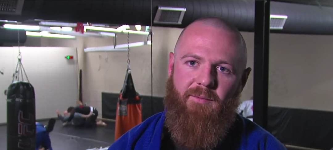 Veteran who lost legs in Afghanistan inspiring others by learning jiu-jitsu